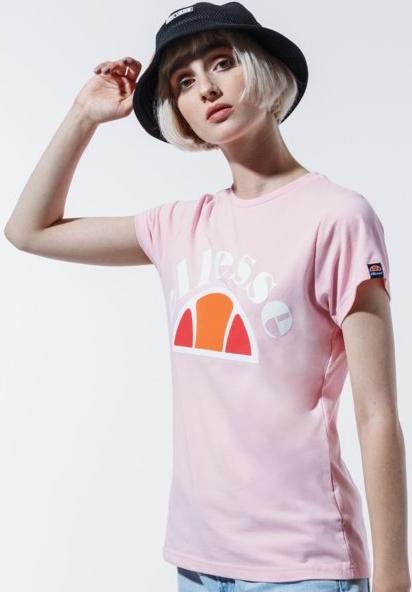 T-shirt Ellesse z krótkim rękawem w sportowym stylu z nadrukiem