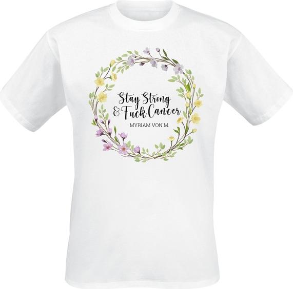 T-shirt Emp z bawełny w młodzieżowym stylu