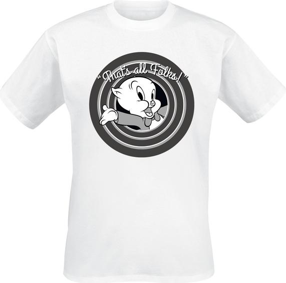 T-shirt Emp z krótkim rękawem z bawełny z nadrukiem