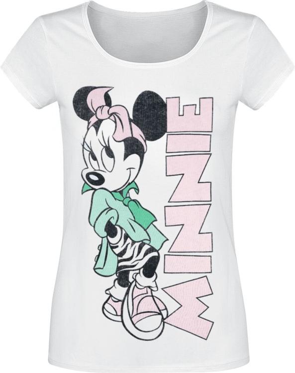 T-shirt Emp z okrągłym dekoltem z bawełny w młodzieżowym stylu