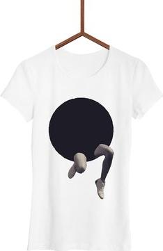 T-shirt Failfake z okrągłym dekoltem z krótkim rękawem w młodzieżowym stylu