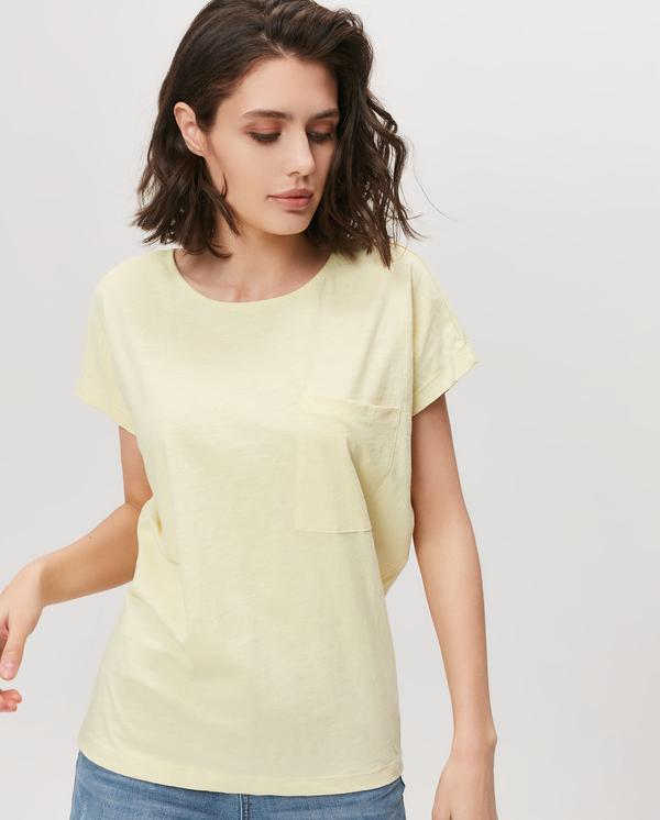 T-shirt FEMESTAGE Eva Minge w stylu casual z krótkim rękawem