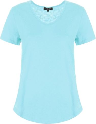 T-shirt FEMESTAGE Eva Minge z krótkim rękawem w stylu casual