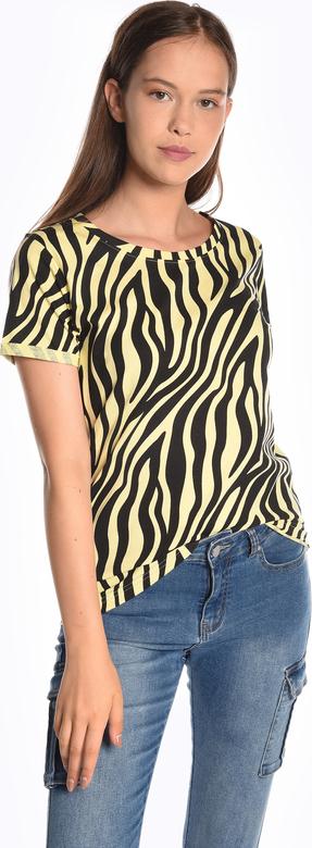 T-shirt Gate z bawełny