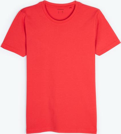 T-shirt Gate z dżerseju z krótkim rękawem