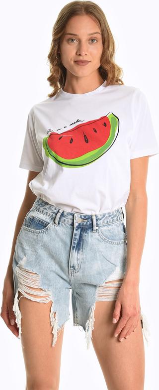 T-shirt Gate z krótkim rękawem w młodzieżowym stylu