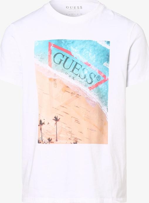 T-shirt Guess Jeans z bawełny