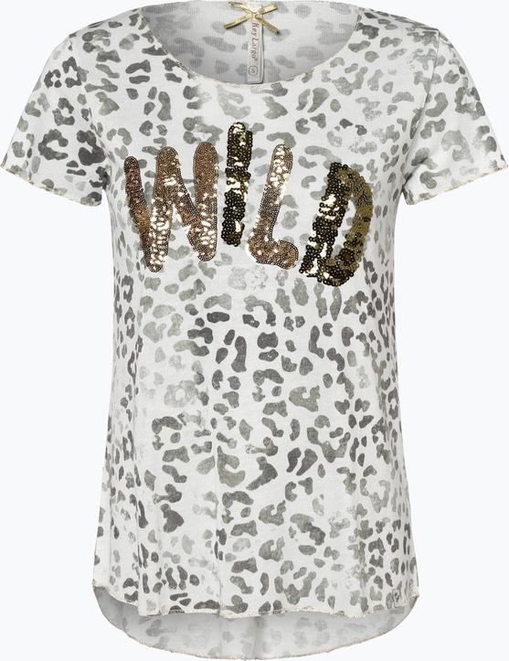 ekonomiczny T-shirt Key Largo z okrągłym dekoltem w stylu glamour Odzież Damskie Topy i koszulki damskie ZN YDPJZN-3