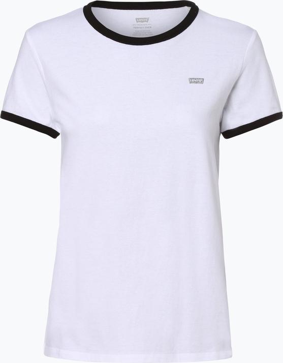 T-shirt Levis z krótkim rękawem z bawełny w stylu casual