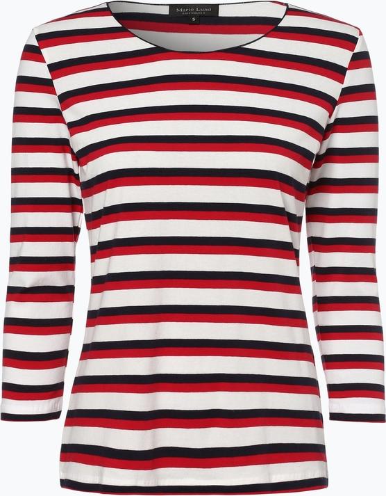 85% ZNIŻKI T-shirt Marie Lund z długim rękawem w stylu casual Odzież Damskie Topy i koszulki damskie UY JFPVUY-5