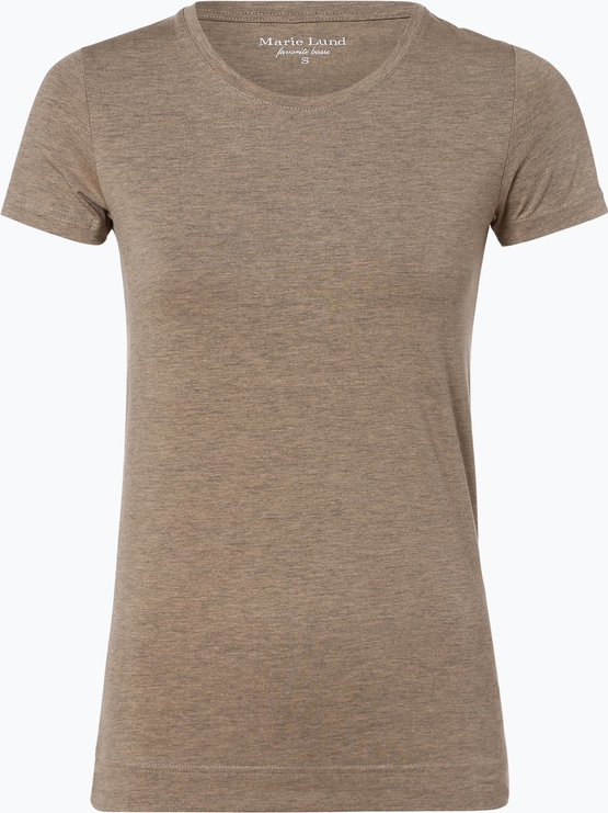 wylot T-shirt Marie Lund z krÓtkim rękawem Odzież Damskie Topy i koszulki damskie KO YLIUKO-7