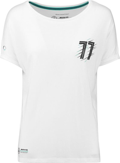 T-shirt Mercedes Amg Petronas F1 Team z bawełny