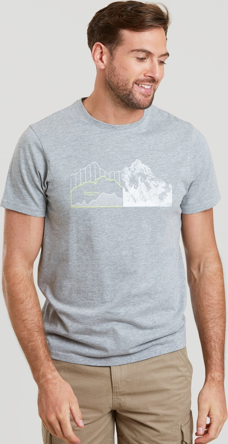 T-shirt Mountain Warehouse w młodzieżowym stylu