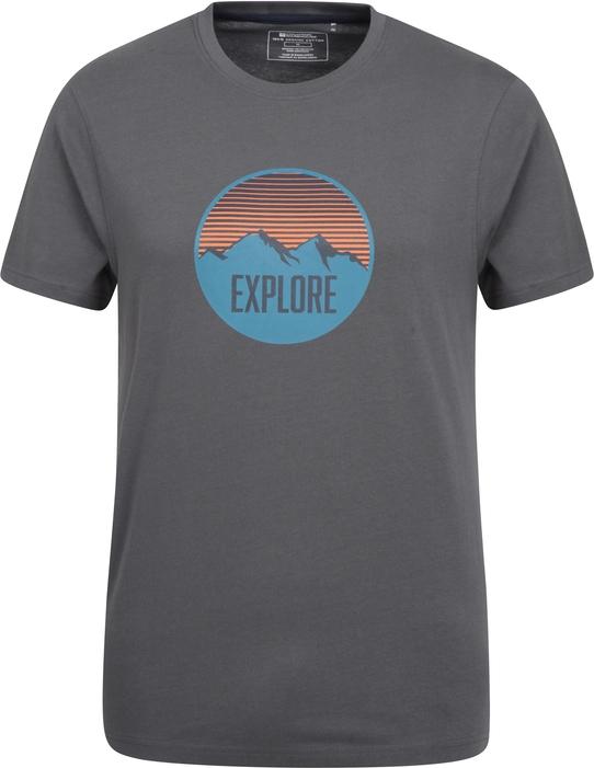T-shirt Mountain Warehouse z krótkim rękawem w młodzieżowym stylu