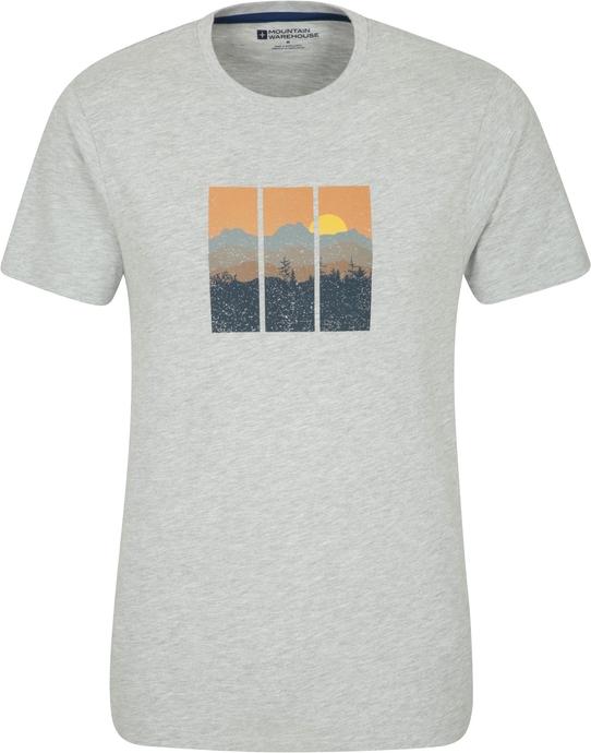 T-shirt Mountain Warehouse z nadrukiem w młodzieżowym stylu z tkaniny