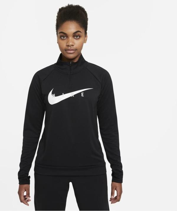 T-shirt Nike z długim rękawem z okrągłym dekoltem