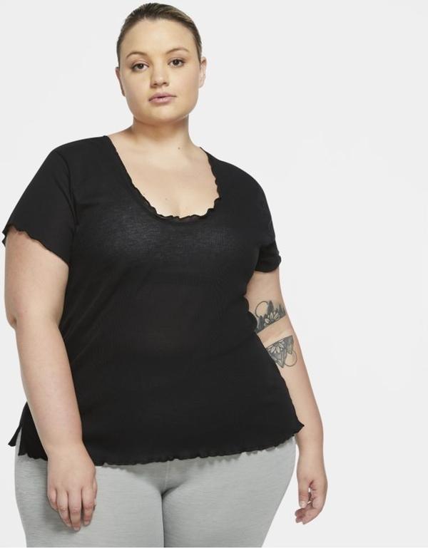 T-shirt Nike z okrągłym dekoltem w stylu casual z krótkim rękawem