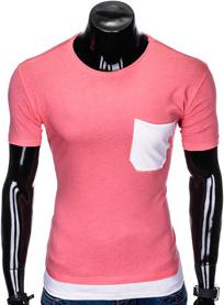 T-shirt Ombre Clothing w stylu casual z bawełny