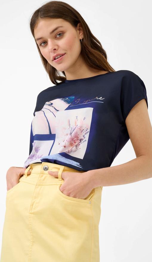 T-shirt ORSAY z krótkim rękawem w młodzieżowym stylu