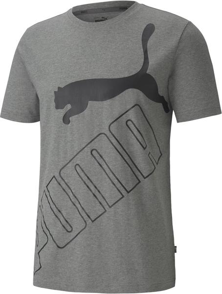T-shirt Puma w sportowym stylu z nadrukiem z krótkim rękawem