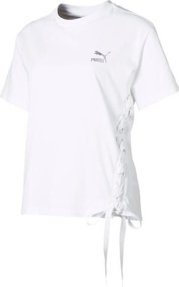T-shirt Puma z bawełny Odzież Damskie Topy i koszulki damskie BP YPAXBP-8 30% OBNIŻONE