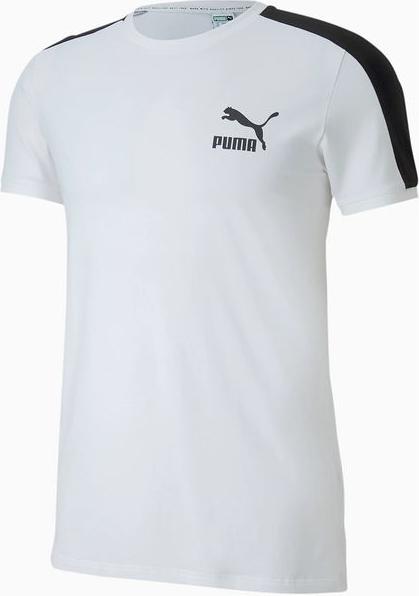 T-shirt Puma z krótkim rękawem w sportowym stylu
