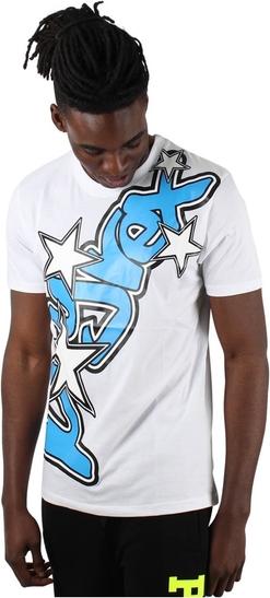 T-shirt Pyrex w młodzieżowym stylu z bawełny z nadrukiem
