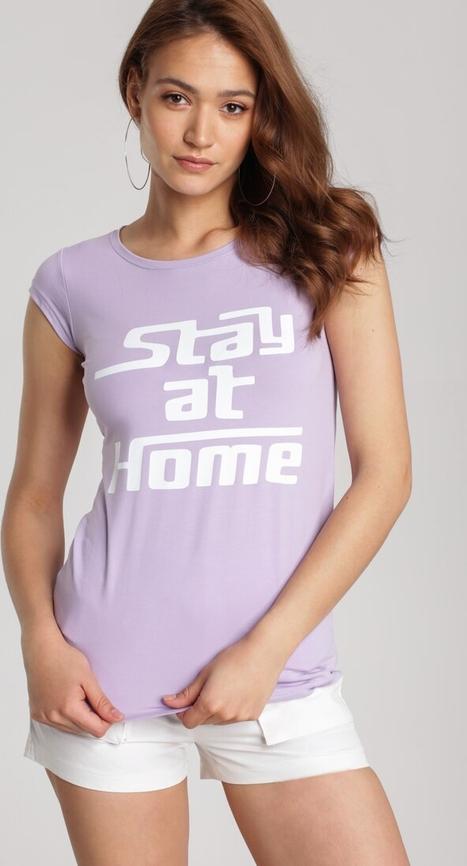T-shirt Renee w młodzieżowym stylu