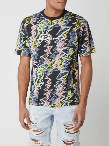 T-shirt Review w młodzieżowym stylu z krótkim rękawem z bawełny
