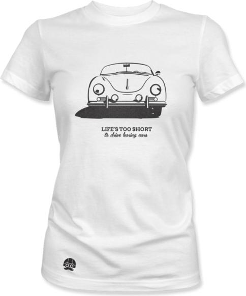 T-shirt sklep.klasykami.pl z bawełny w młodzieżowym stylu z krótkim rękawem
