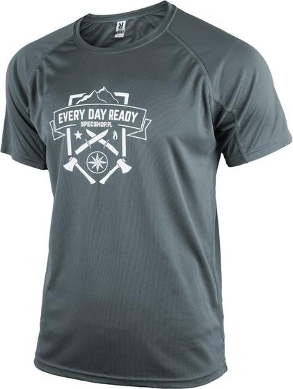 T-shirt Specshop.pl w młodzieżowym stylu z tkaniny