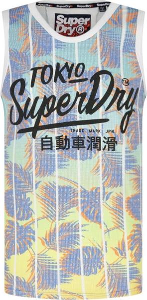 T-shirt Superdry z nadrukiem w młodzieżowym stylu