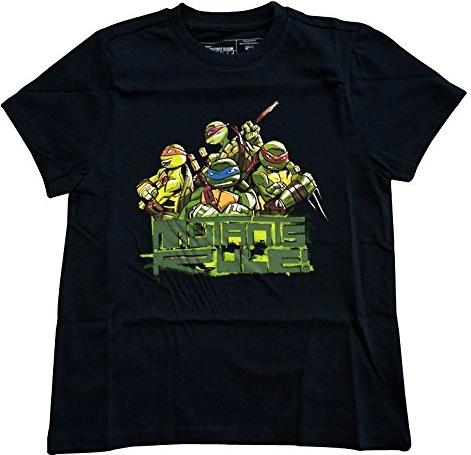 T-shirt teenage mutant nt - retro/clas