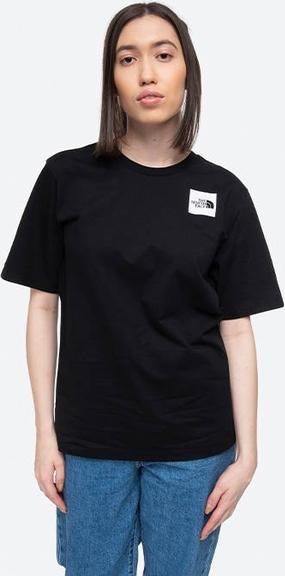 T-shirt The North Face z bawełny z okrągłym dekoltem z krótkim rękawem