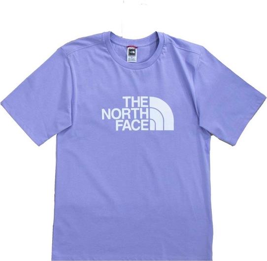 T-shirt The North Face z okrągłym dekoltem z krótkim rękawem z bawełny