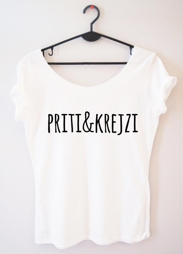 T-shirt Time For Fashion z krótkim rękawem w młodzieżowym stylu