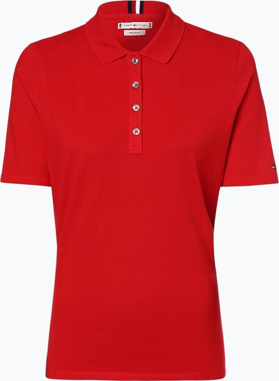 T-shirt Tommy Hilfiger w stylu casual z krótkim rękawem z bawełny