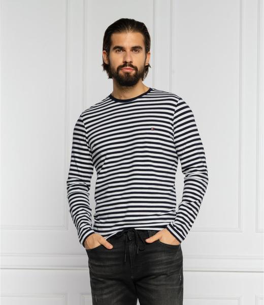 T-shirt Tommy Hilfiger z długim rękawem w stylu casual