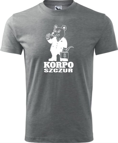 T-shirt TopKoszulki.pl z krótkim rękawem w młodzieżowym stylu