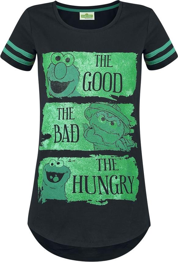 T-shirt Ulica Sezamkowa w młodzieżowym stylu z bawełny