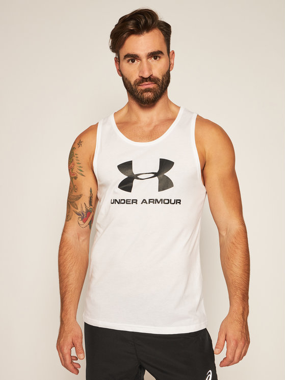 T-shirt Under Armour z krótkim rękawem w młodzieżowym stylu