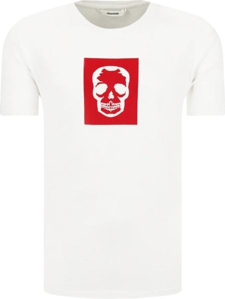 T-shirt Zadig & Voltaire z nadrukiem
