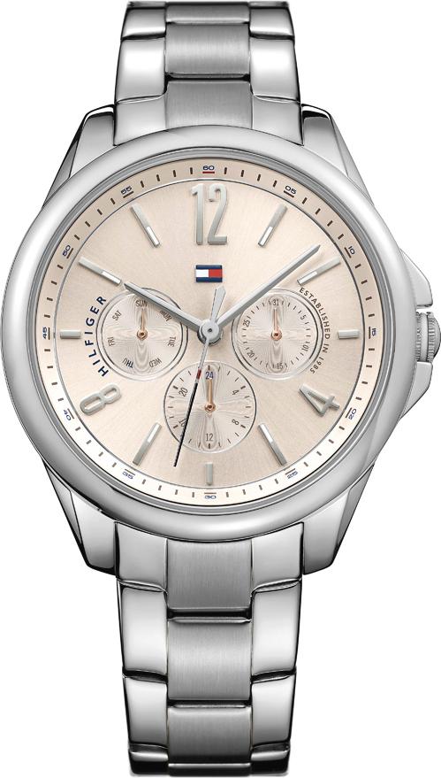 Tommy hilfiger savannah zegarek uni srebrny