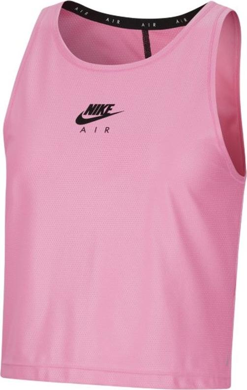 Top Nike z okrągłym dekoltem w sportowym stylu