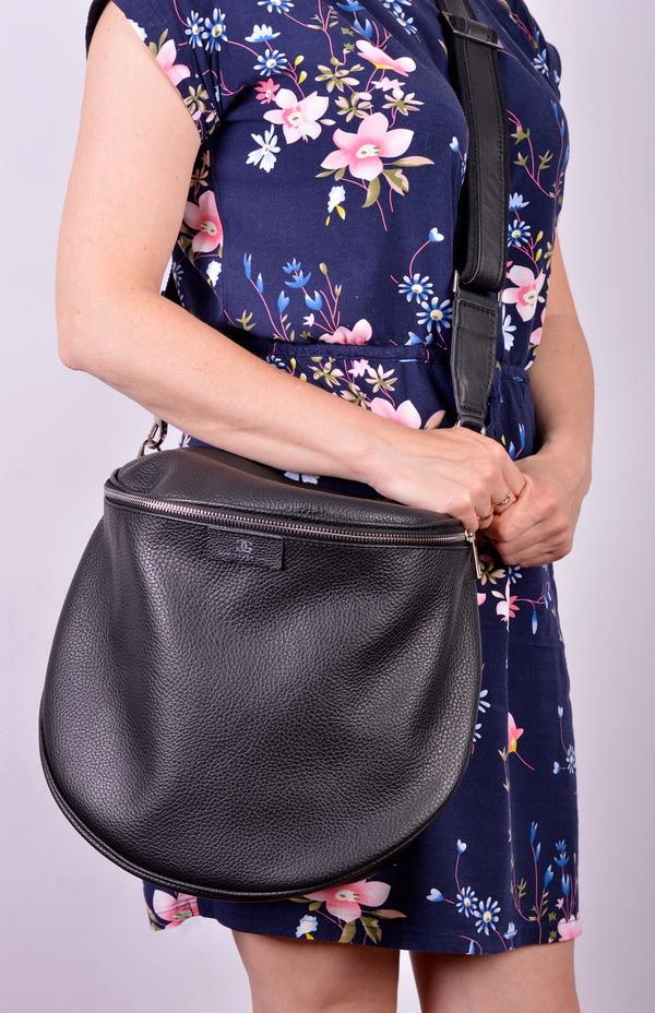 Torebka Designs Fashion ze skóry na ramię matowa