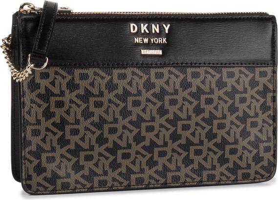 Torebka DKNY na ramię z nadrukiem