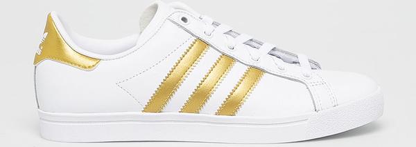 Trampki Adidas Originals z płaską podeszwą sznurowane niskie