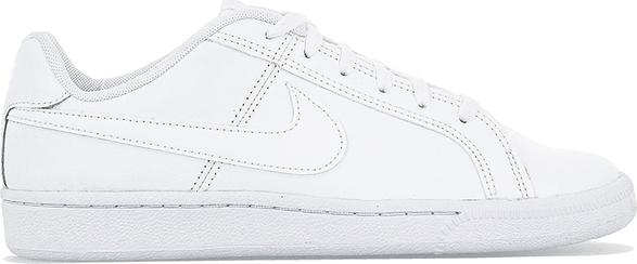 Trampki Nike niskie ze skóry ekologicznej sznurowane