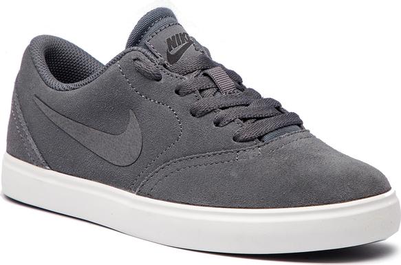 Trampki Nike sznurowane w sportowym stylu z zamszu