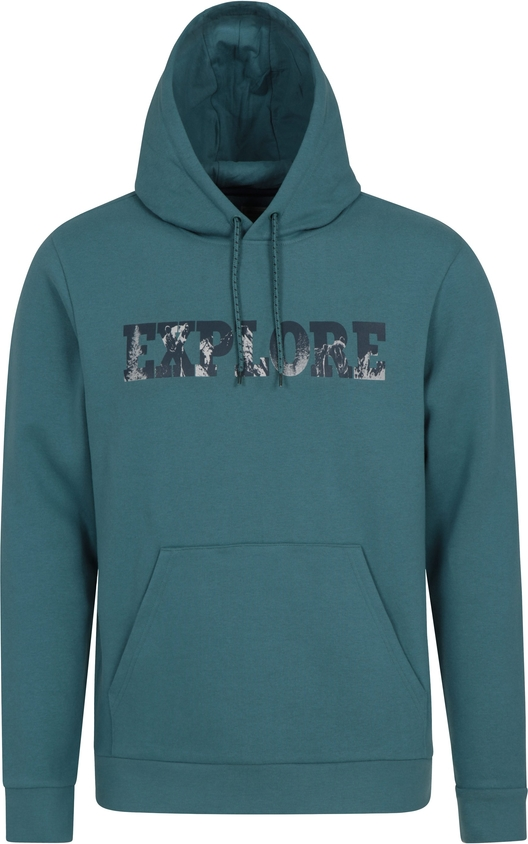 Turkusowa bluza Mountain Warehouse z tkaniny w młodzieżowym stylu